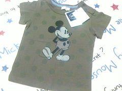 新品未使用HusH HusHミッキーマウス半袖Tシャツサイズ90�p