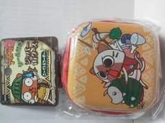 モンスターハンターモンハン日記アイルー村Gジッパー缶ケースニャイト&プーギーシール付き