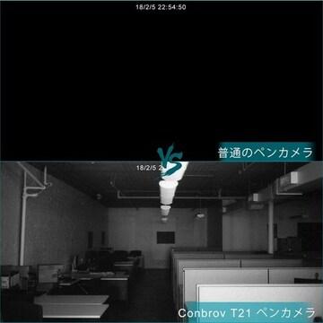 ボールペン型スパイカメラ 小型隠しカメラ 高画質暗視
