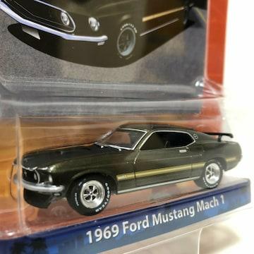 GLグリーンライト/'69 Fordフォード Mustangマスタング  1/64