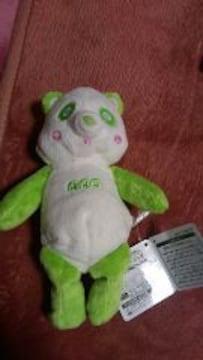 AAA え〜パンダ くったりぬいぐるみ 緑色