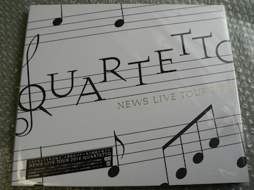 新品/NEWS/LIVE TOUR 2016 QUARTETTO【初回盤】4DVD/他にも出品