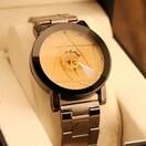 腕時計 アナログ クォーツ おしゃれ メンズ ステンレスベルト