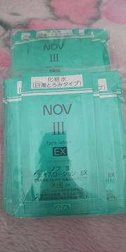 NOVノブ�VフェイスローションEXよりしっとり(白濁とろみタイプ)サンプル高保湿