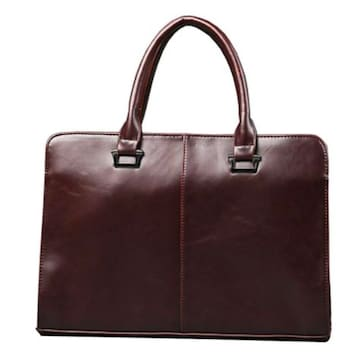 2way ビジネスバッグ A4サイズ対応 ブリーフケース淡茶