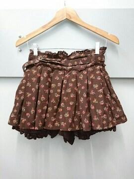 LIZ LISA☆小薔薇柄キュロットパンツ