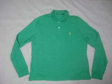 wr520 女 Ralph Lauren ラルフローレン 長袖ポロシャツ XLサイズ