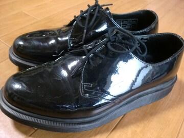 ドクターマーチン エナメル ブーツ 25センチ 新品同様