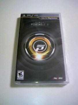 新品 PSP DJMAX PORTABLE3 海外版/ディージェーマックスポータブル3リズムゲーム