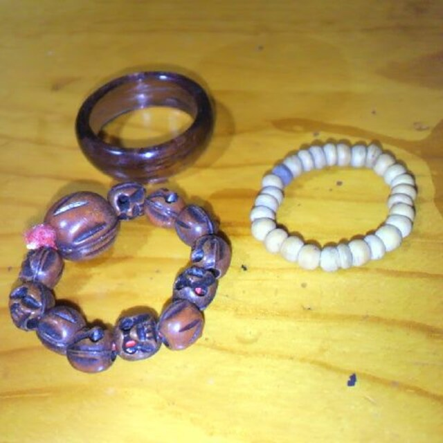 アジアン指輪3個セット 15号  < 女性アクセサリー/時計の