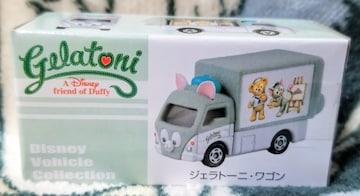 TDS×トミカ☆ジェラトーニ【ジェラトーニ・ワゴン】ディズニーヴィ-クルコレクション