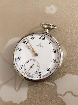 T153 OMEGA オメガ 懐中時計 手巻き オリジナルケース
