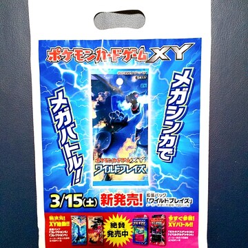 ●新品●ポケモンカードゲームXY 手提げプラ袋 10枚組★