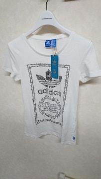新品タグ付き アディダス オリジナルス ビッグロゴTシャツ S