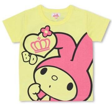 新品BABYDOLL☆マイメロディ Tシャツ 90 イエロー ベビードール