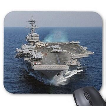 空母、USS George H.W. Bushのマウスパッド