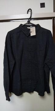 サマンサモスモス♪ワイドギャザーシャツ  黒新品