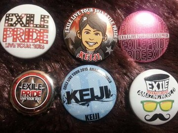 EXILE KEIJI 缶バッジセット
