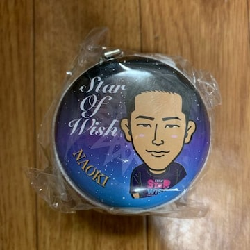 STAR OF WISH EXILE ジッパー缶ケース 小林直己 ガチャ