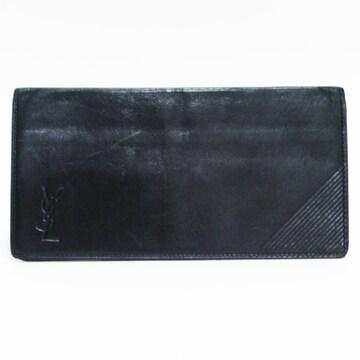 イヴ・サンローラン 札入れ 財布ヴィンテージ黒 良品 正規品