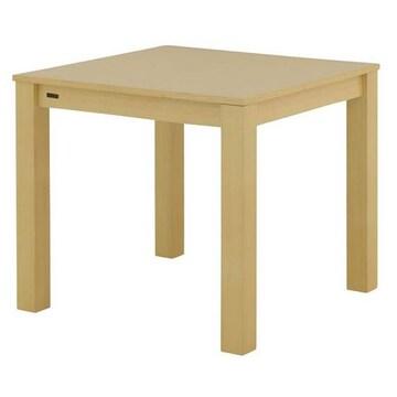 ダイニングテーブル(2人掛け80cm幅)ナチュラル LUM70-80T_NA