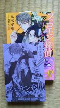 6月新刊  フェロモン探偵アイドルを追え!  丸木文華