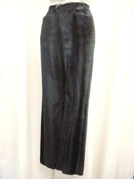 【ユナイテッドアローズ】ベロア黒パンツです
