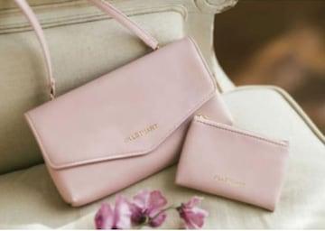 ジルスチュアート☆バッグ&ミニポーチセット ピンク 新品未使用
