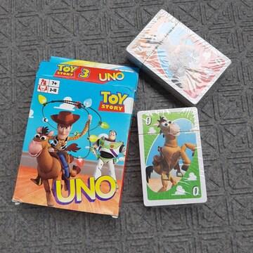 新品 知育玩具 ディズニー トイストーリー ウノ