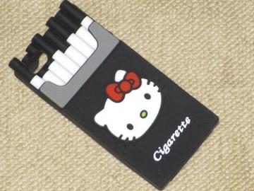 未使用☆ハローキティ*iPhone SE/5/5sシガレットシリコンケース