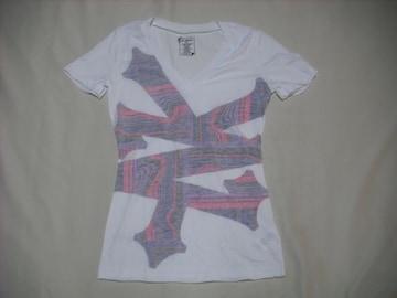 mq547 女 ZOO YORK ズーヨーク 白 Tシャツ XSサイズ
