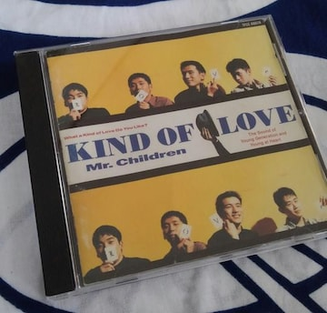 ☆送料無料☆ Mr.Children* KIND OF LOVE