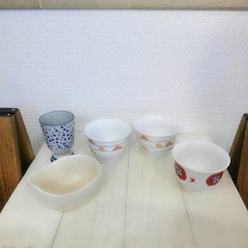 陶器の入れ物 5個セット