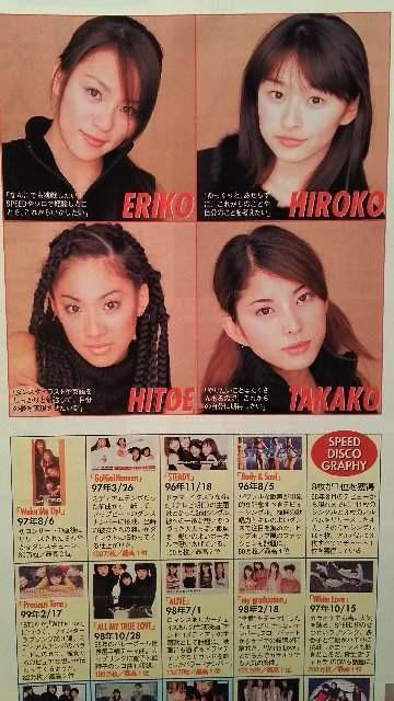 SPEED【週刊東京ウォーカー】1999年 No.50 < タレントグッズの