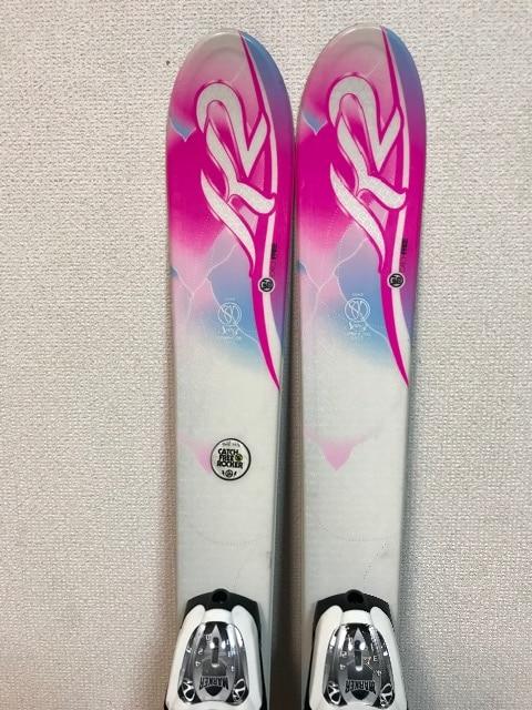K2 レデース用スキー板124 美品♪ < レジャー/スポーツの