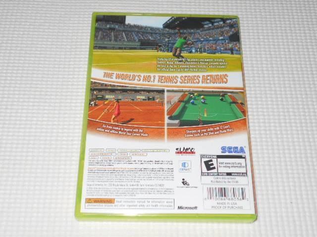 xbox360★VIRTUA TENNIS 2009 海外版 < ゲーム本体/ソフトの