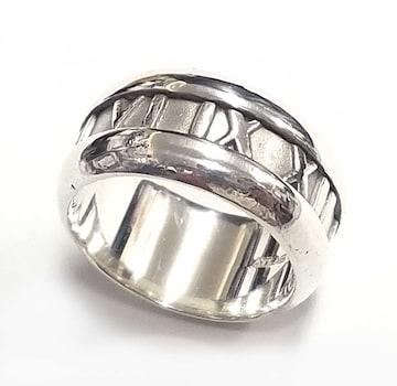 正規ティファニーアトラスリング指輪シルバー10号甲丸SV925