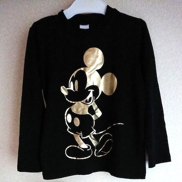 Mickey MouseロンTblack120