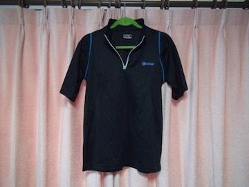 extearのスタンドカラー型ポロシャツ(L)!。