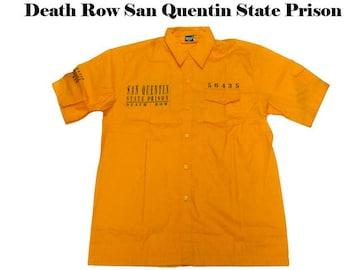 新品 ローライタ・b系・ワークシャツDeath Row San Quentin 5XL