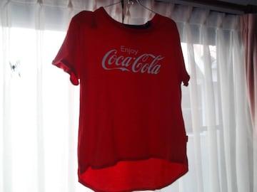 コカコーラのTシャツ (XL) 日本製!。