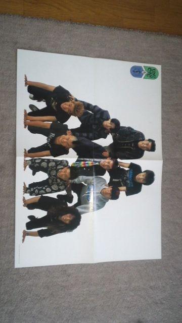 非売品 ユニコーン&ジュンスカイウォーカーズポスター パチパチ1991年7月号付録 < タレントグッズの