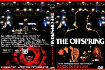 ≪送料無料≫OFFSPRING ROCK IN RIO 2008 ザ・オフスプリング
