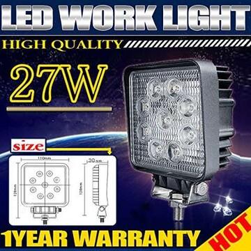 LED作業灯 LEDワークライト2個 x 27W