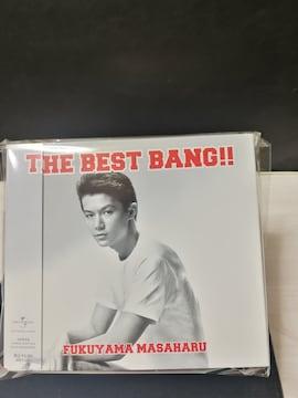 福山雅治 4CD&DVD THE BEST BANG 曲目画像掲載 送料無料