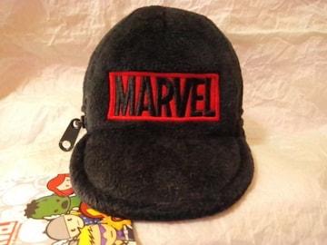 ■MARVEL■帽子型小物入れ・小銭入れ★カラビナ付き■
