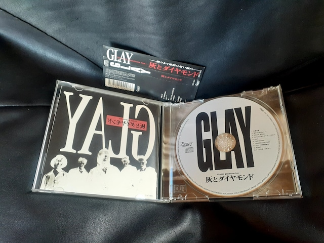 GLAY/ 灰とダイヤモンド CD アルバム < タレントグッズの