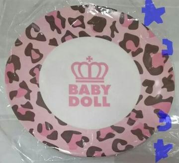 ベビードール Babydoll ヒョウ柄 ロゴプレート お皿 非売品 新品