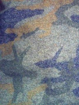 メンズ L.L.Bean エルエルビーン グリーン 長袖 迷彩柄 シャツ ジャケット M-REG