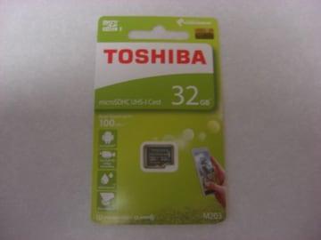 TOSHIBA microSDHC 32GB